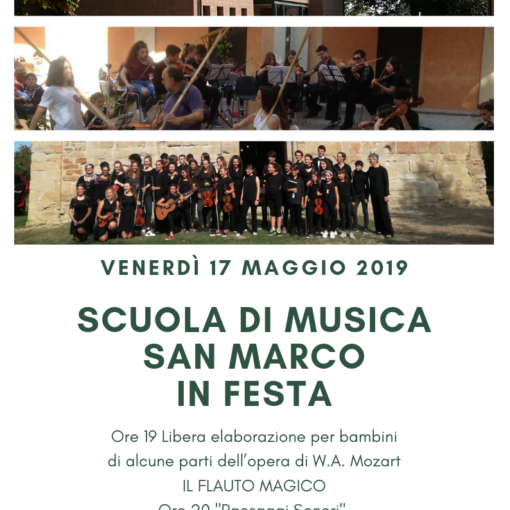 Festa Scuola Musica San Marco 2019