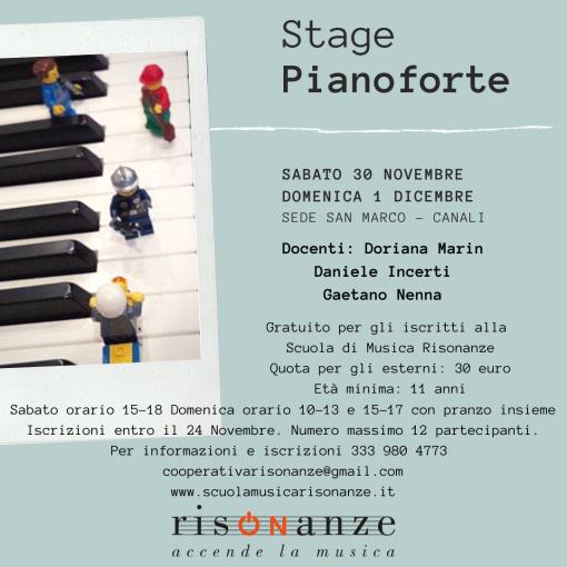 stage pianoforte