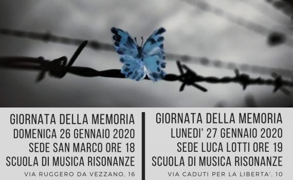 Giornata Memoria Scuola Musica Risonanze 2020